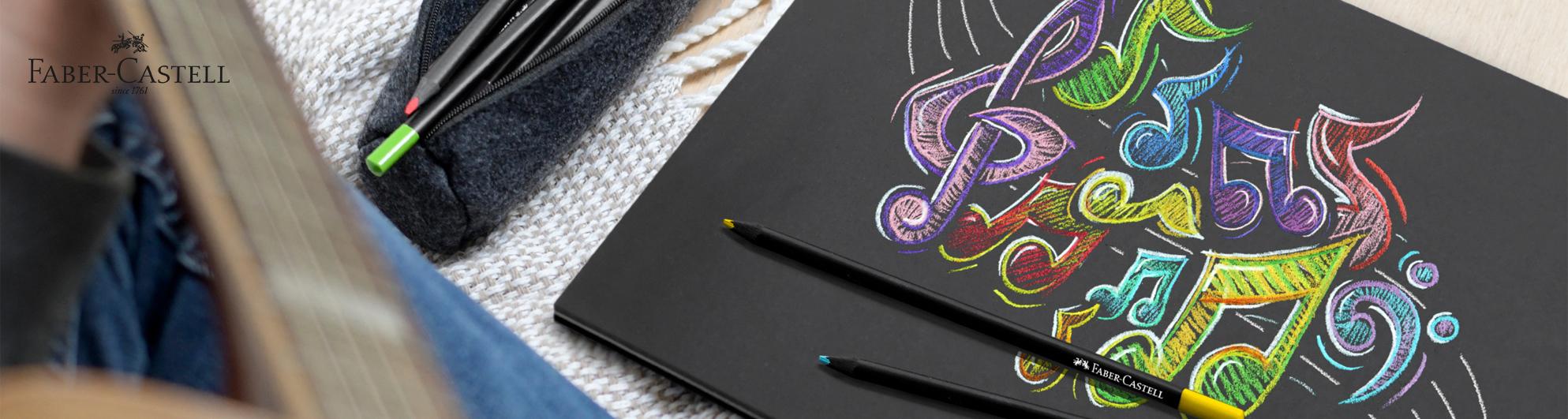 Faber-Castell kesä ja piirtäminen